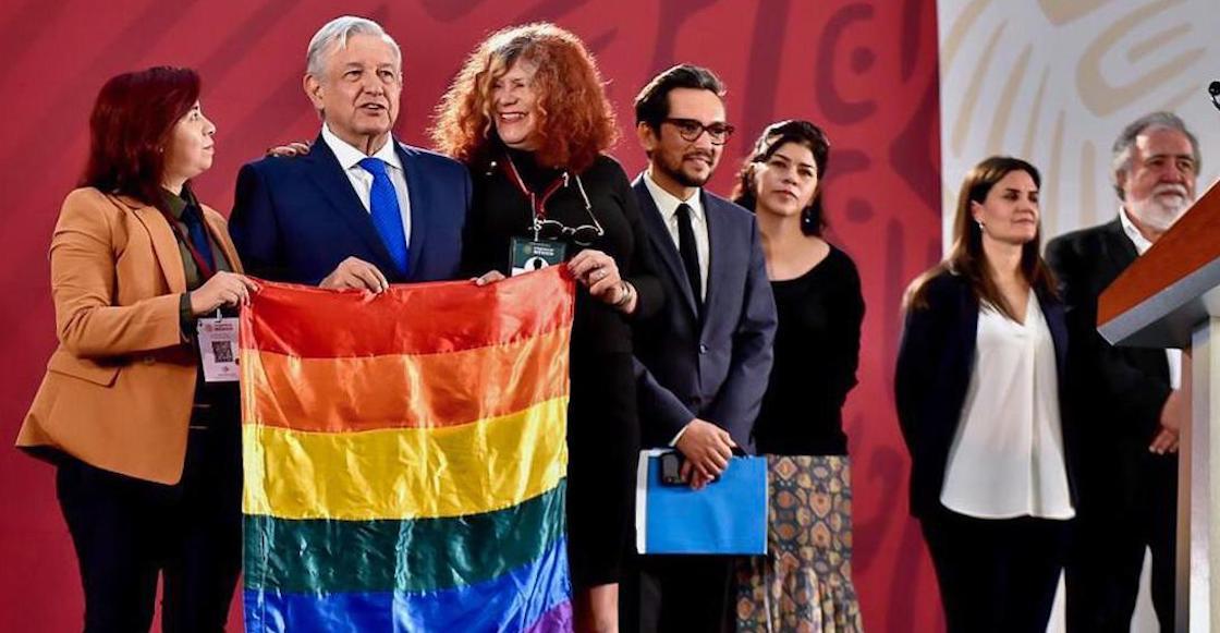 'No hay 4T sin personas LGBT': decretan día de lucha contra Homofobia
