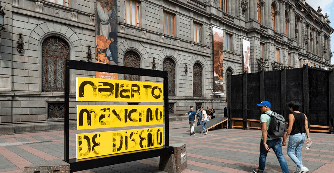 Entérate de qué va la edición 2019 del Abierto Mexicano de Diseño