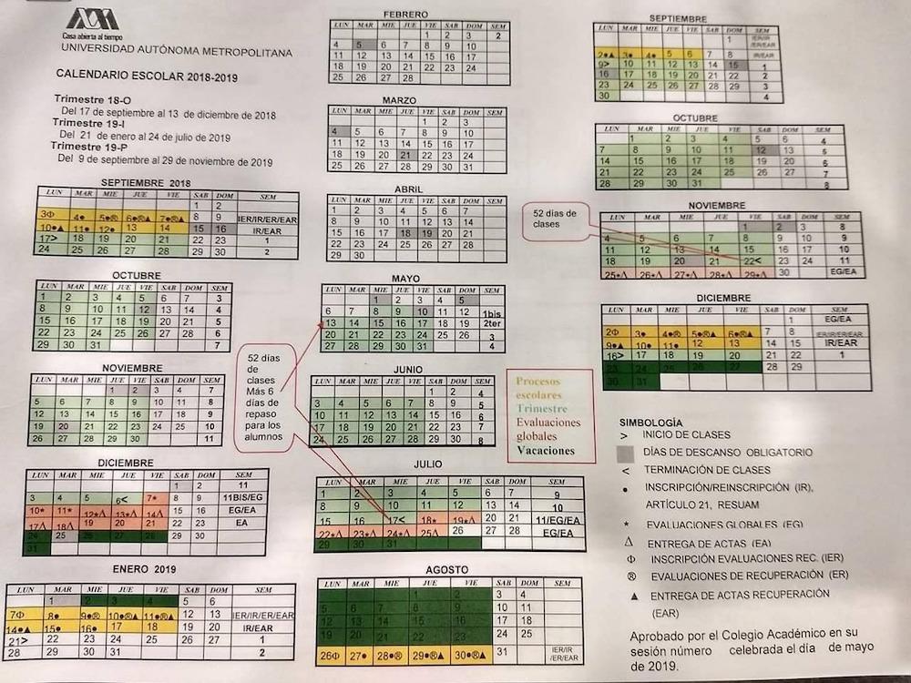 Calendario-UAM-regreso-clases