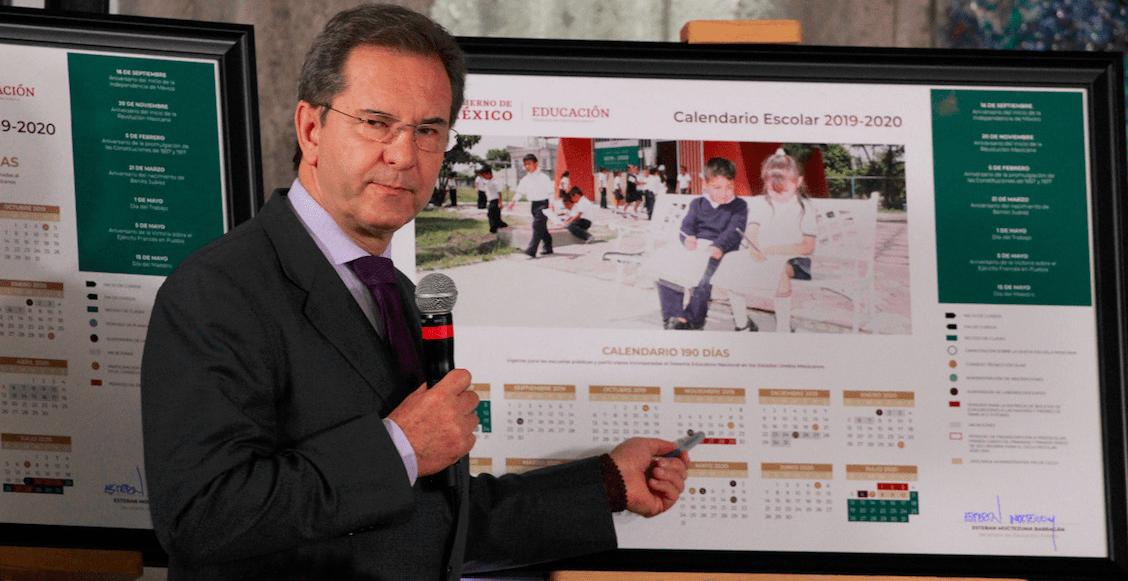 Ojo con las fechas: la SEP presenta calendario escolar único 2019-2020