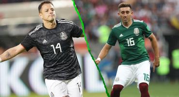 Las razones por las que 'Chicharito' y Héctor Herrera no jugarían la Copa Oro