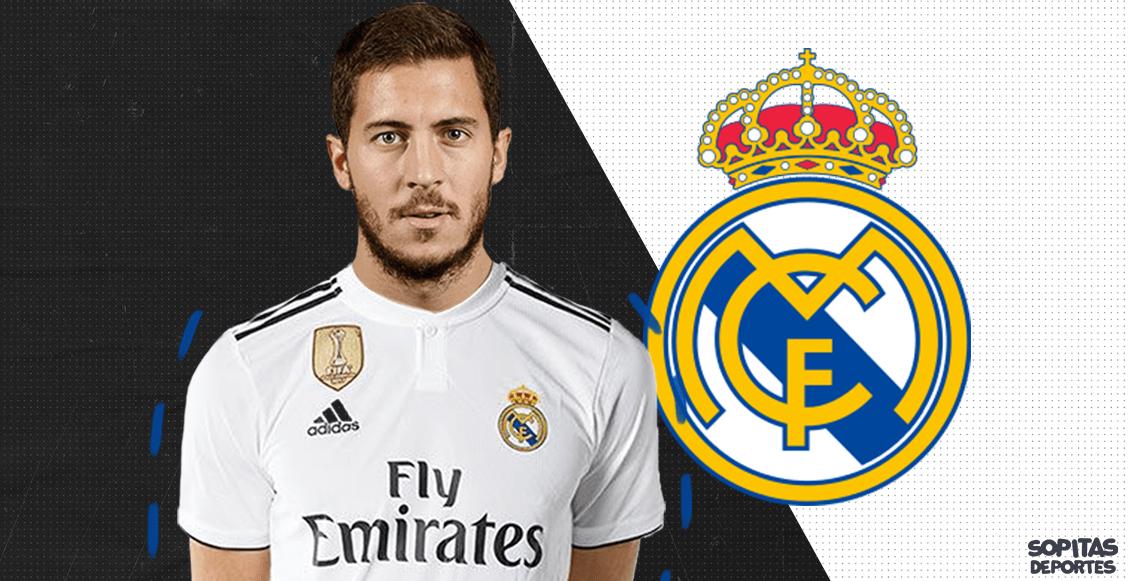 ¡Bombazo merengue! Eden Hazard es nuevo jugador del Real Madrid