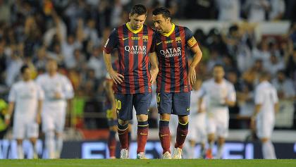 ¡De leyenda a leyenda! El emotivo adiós de Messi a Xavi Hernández