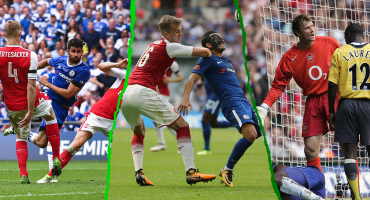 Así les ha ido a Chelsea y Arsenal cuando se enfrentan en finales