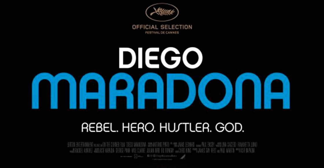 Salió el trailer oficial de la película de Maradona