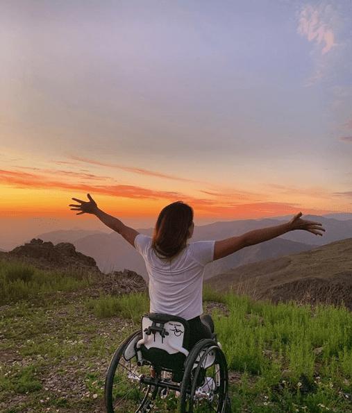 Ella es María Paz, la atleta paralímpica que posó en lencería para dar una lección de inclusión