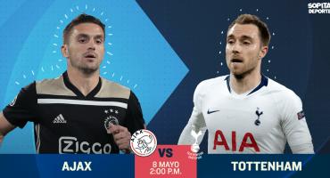 ¿Dónde, cuándo y cómo ver en vivo el Ajax vs Tottenham?