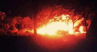 Otra vez: Explota ducto de Pemex en Chiapas; presuntamente era toma clandestina