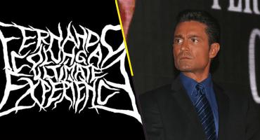 Ah prro: Fernando Colunga inspira a una banda de metal y todos estamos de WTF?!