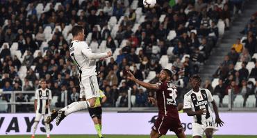 ¡Llegó el 28! Ve el gol de Cristiano Ronaldo al Torino
