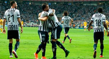 ¡Ventaja mínima! Rayados le pegó a Tigres en la ida de semifinales del Clausura 2019