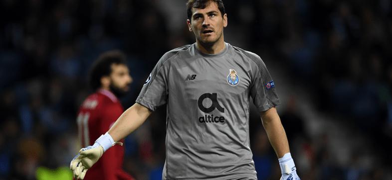 Iker Casillas sufrió un infarto en entrenamiento del Porto; no volverá a jugar