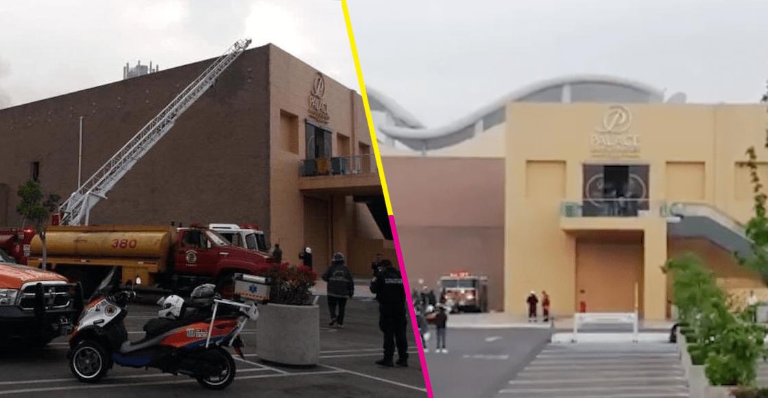 Por un 'tema eléctrico', se registró un incendio en el Casino Palace Puebla