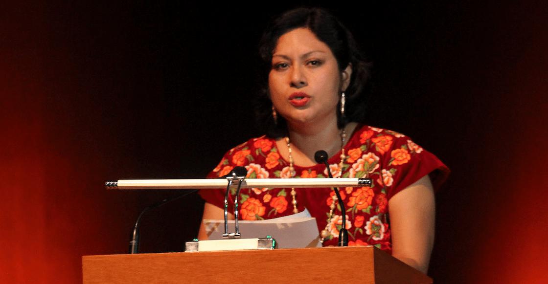 Orgullo nacional: La poeta Irma Pineda es la primera indígena mexicana en representarnos ante la ONU