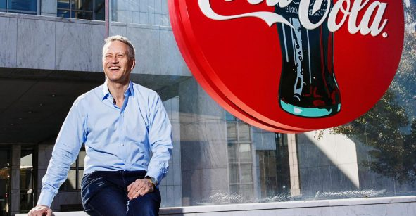 James Quincey CEO Global Coca Cola