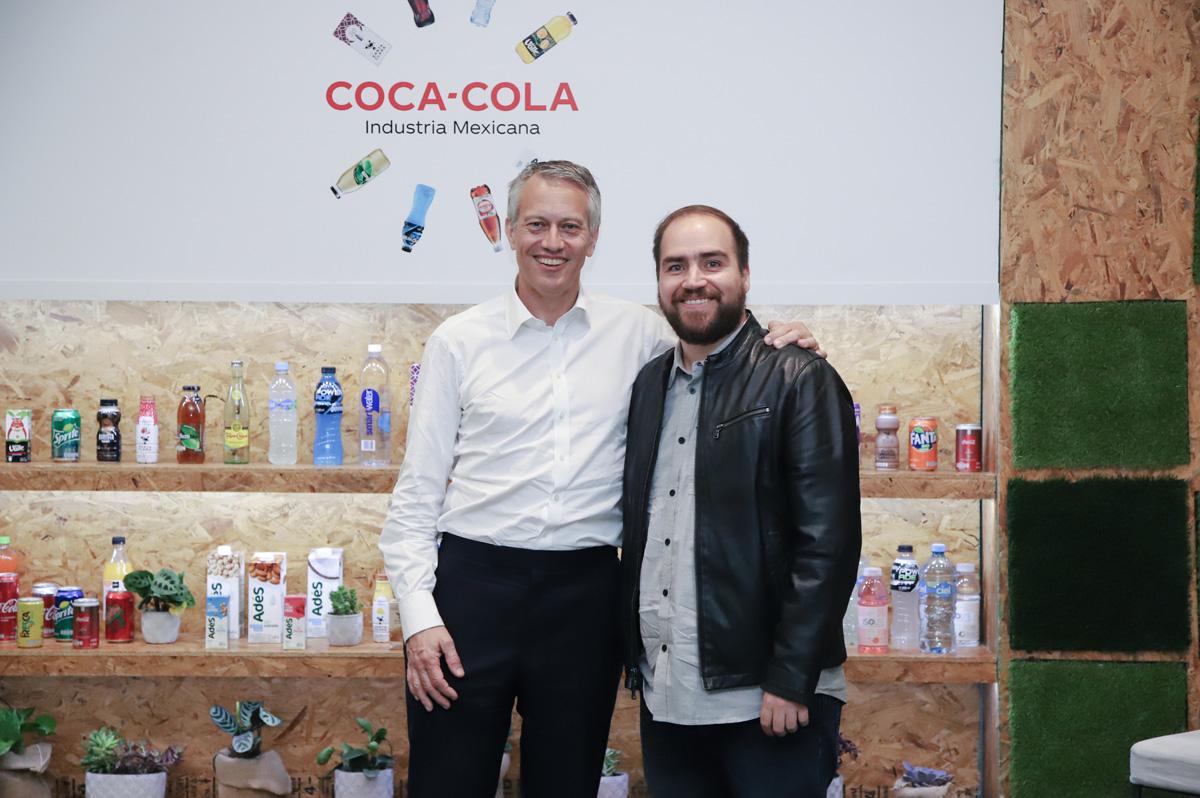 Entrevista de Sopitas con James Quincey CEO de Coca Cola