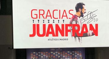¡Otro que se va! Juanfran anunció su salida del Atlético de Madrid