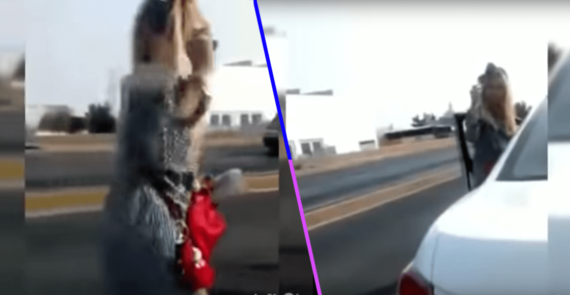 #LadyMagistrado: Una mujer es infraccionada y saca a relucir sus