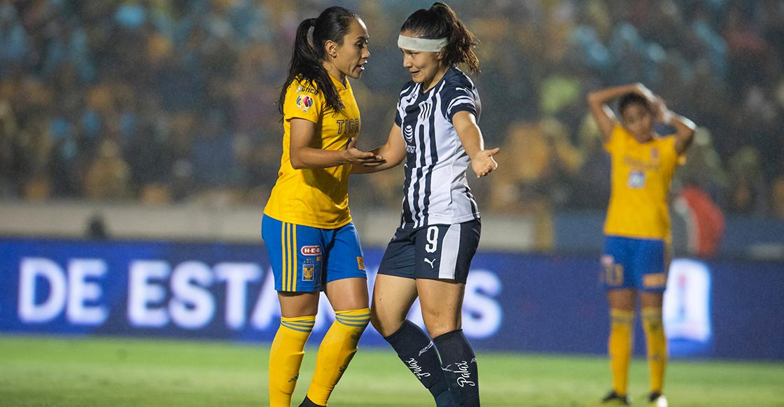 ¡Tablas! Van los goles de la ida de la final regia de la Liga MX Femenil