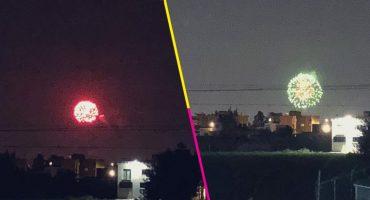 Contingencia nivel: en Metepec queman cohetones en honor a San Isidro
