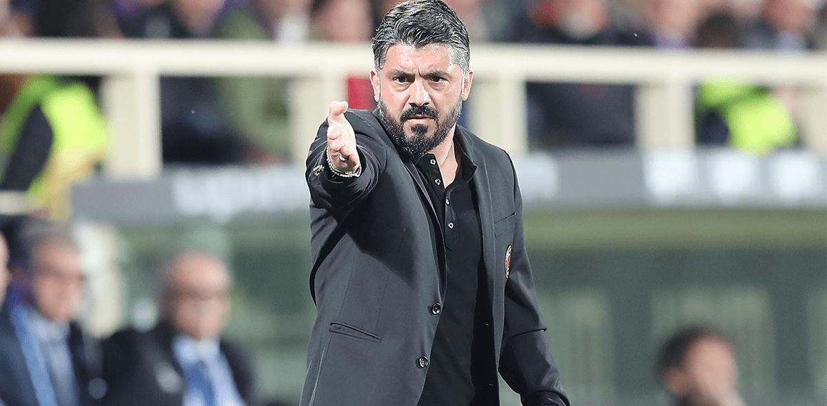 Arrivederci: Gennaro Gattuso dejó de ser técnico del Milan