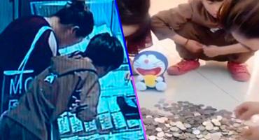 La emotiva historia de un niño que rompió su alcancía para comprarle un anillo a su mamá 🥺😭