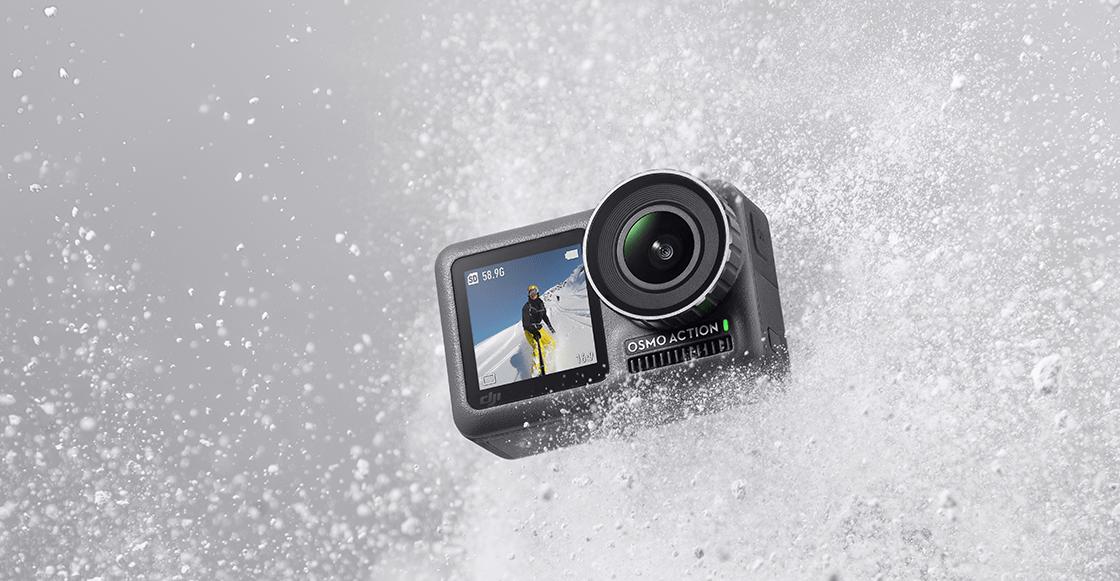¡Ya llegó la nueva cámara Osmo Action y acá te contamos de qué va!