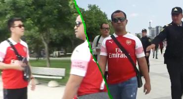 Ridículo nivel: Policía en Bakú detiene a fans del Arsenal con playera de Mkhitaryan