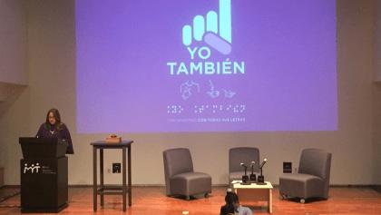 'La tragedia no es la discapacidad; es la discriminación', Katia D'Artigues presenta Yo También