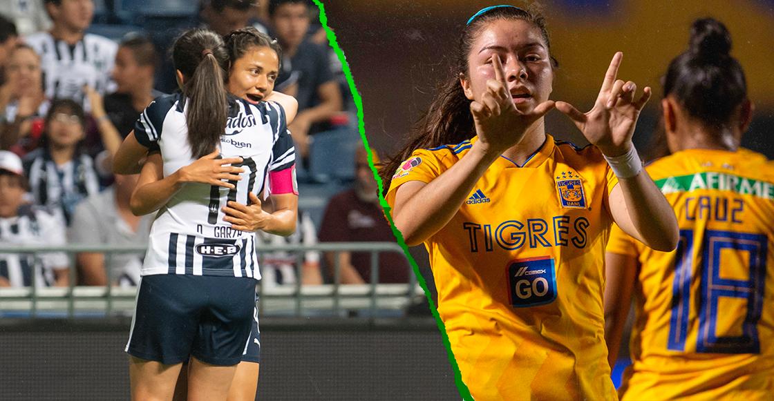 Rayadas-Tigres: La segunda final regia en cuatro torneos de la Liga MX Femenil