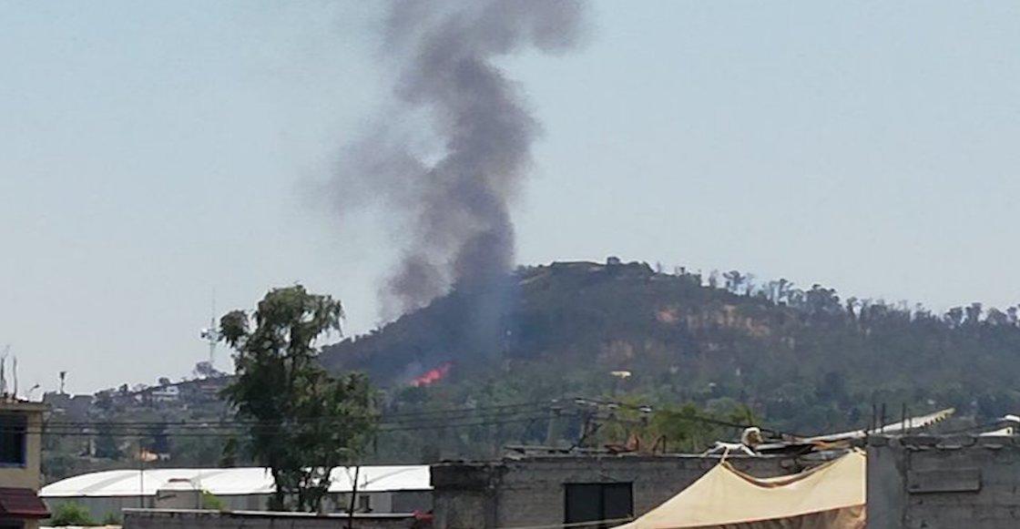 ¿Más? Reportan incendios en Iztapalapa y Tlalpan CDMX