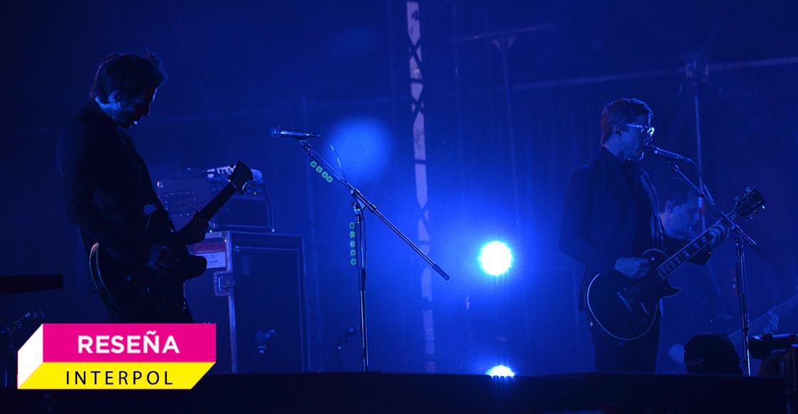 Interpol volvió a reafirmar por qué son una de las bandas más amadas por México