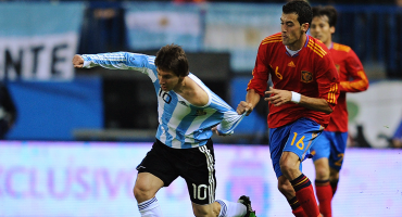 Lo que hubiera sido: Revelan que España buscó a Messi para que jugara con ellos