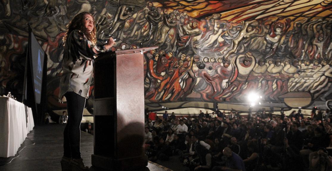 Otra de Sanjuana: Notimex levanta críticas por 'tirar línea editorial'