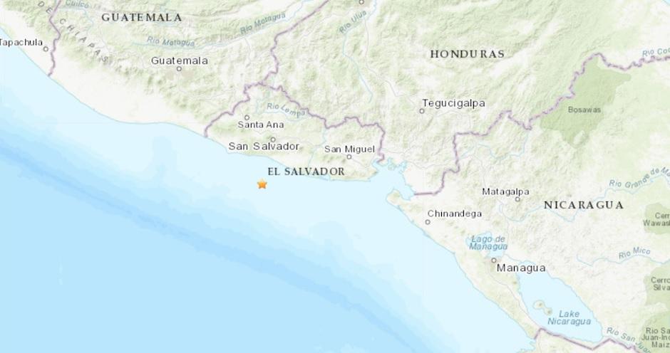 Ahora en El Salvador: Sismo de 6.8 sacude las costas del país centroamericano