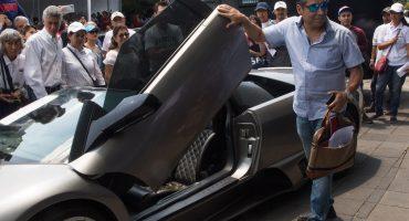 """Gobierno realizó nueva subasta de """"machucones""""; Lamborghini se fue en 1.7 mdp"""