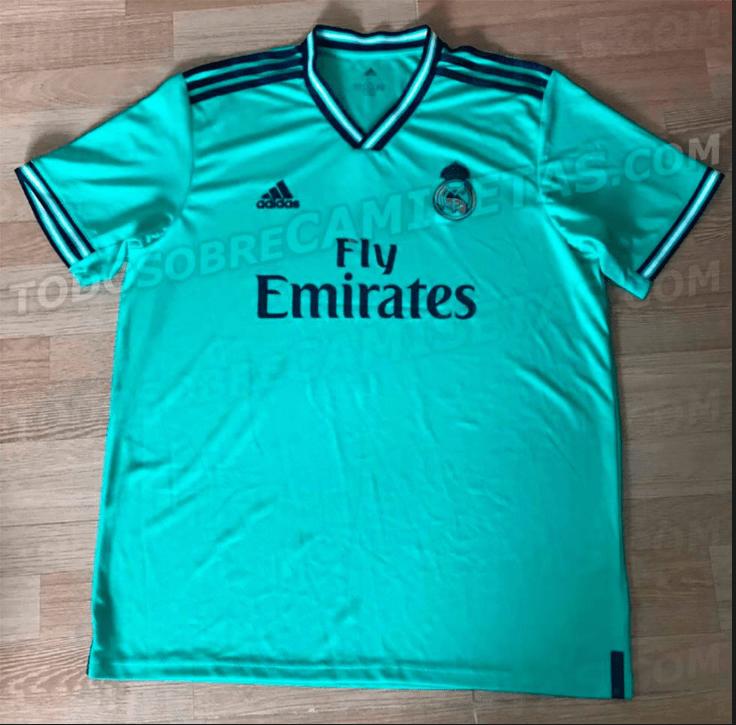 ¡Son bellísimos! Filtraron los nuevos uniformes del Real Madrid para la 2019-20