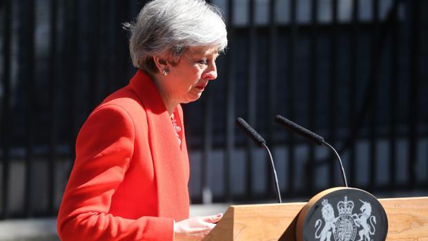 Primera Ministra de Reino Unido, Theresa May, anuncia su dimisión