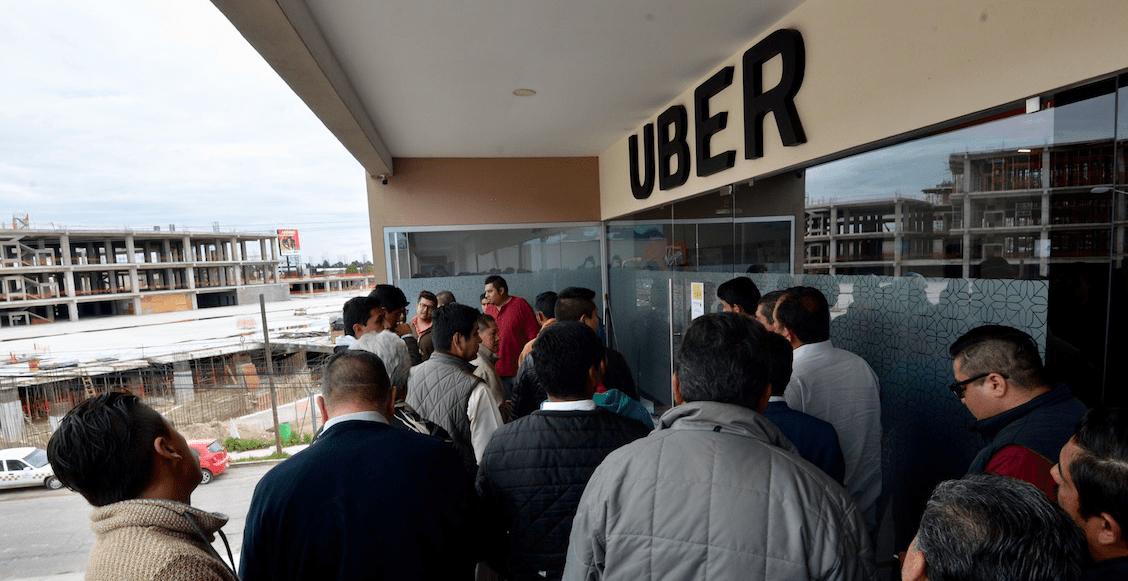 El SAT cobrará impuestos a conductores de Uber, Cabify o Bolt