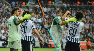 WTF?!! El momento en el que Nahuel Guzmán quiso besar a Rodolfo Pizarro