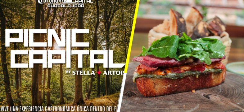 Picnic Capital: La experiencia gourmet del Corona Capital Guadalajara 2019 con cocina mexicana