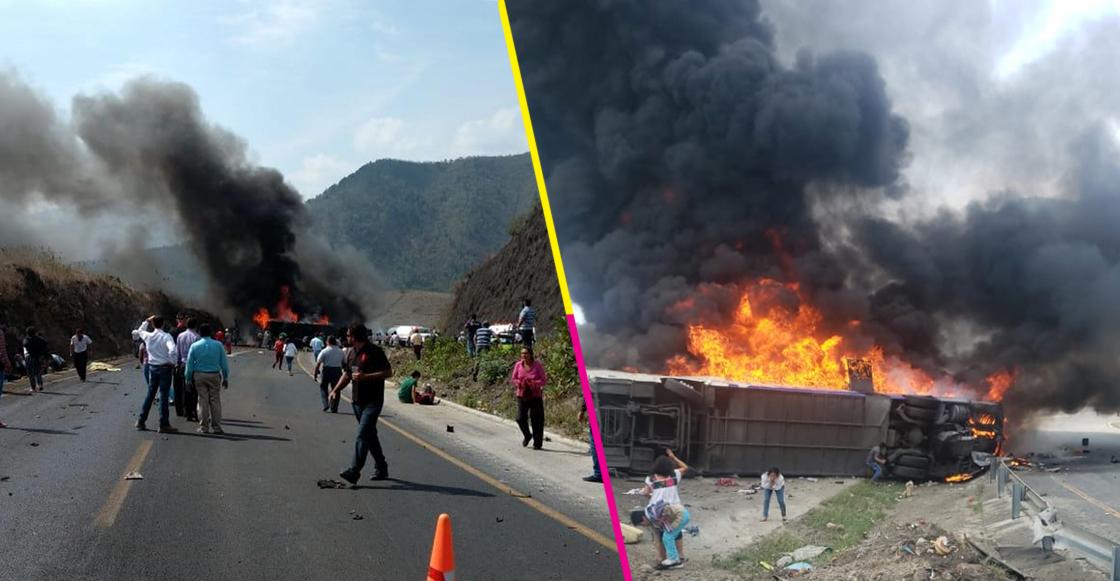 Todo lo que sabemos del accidente en la autopista Puebla-Orizaba; habría más de 10 muertos