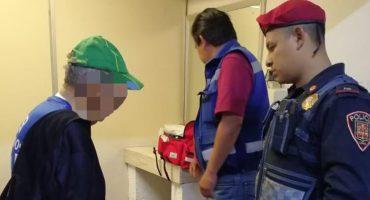 Un adulto mayor tuvo la intención de suicidarse en la estación Indios Verdes por problemas familiares 