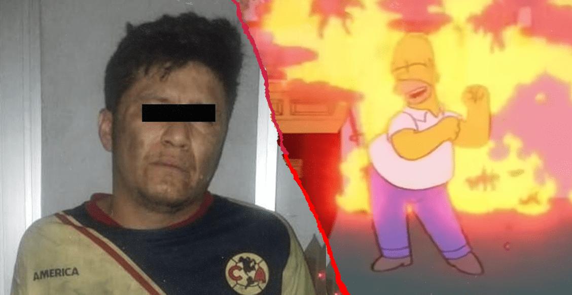 ¡Ódiame más! Aficionado del América incendia la casa de su hermano tras la derrota ante León
