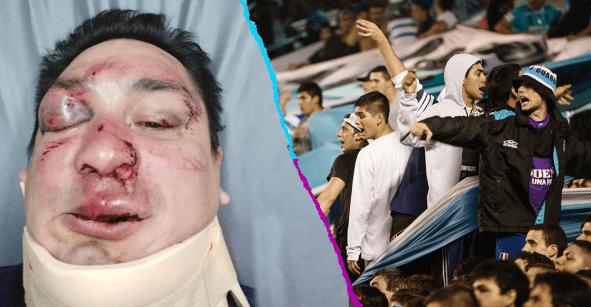 Aficionados de Racing golpean a periodista tras revelar el negocio de la reventa