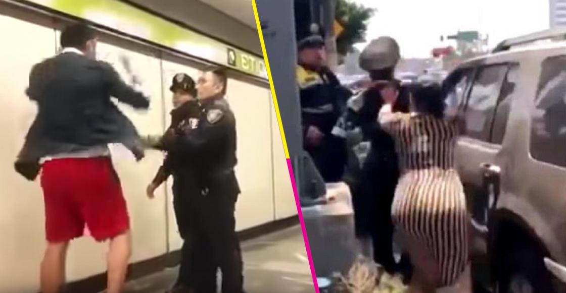 Agresion policias