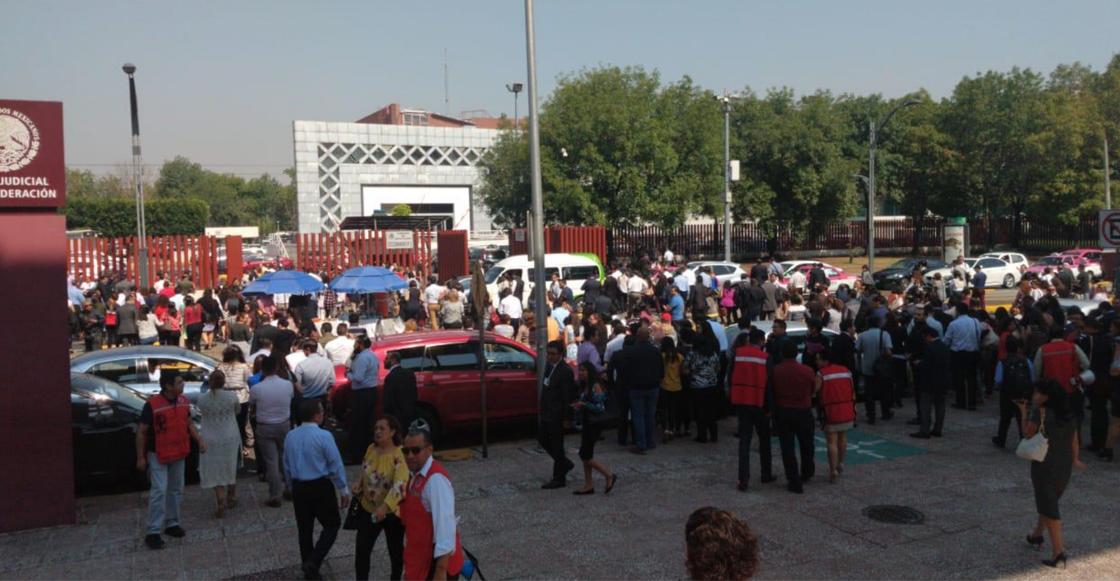 Desalojaron juzgados del Poder Judicial en San Lázaro por amenaza de bomba