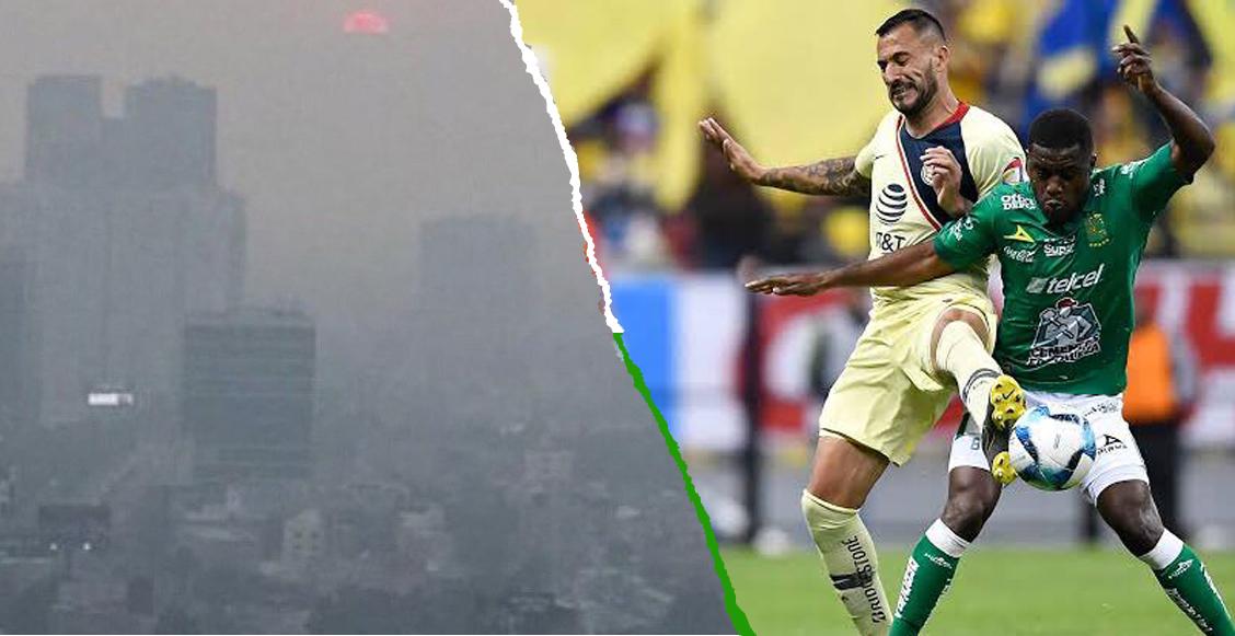 ¡Atentos todos! América vs León podría reprogramarse debido a Contingencia Ambiental en CDMX