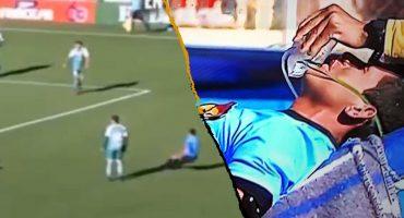 El momento en que un árbitro murió en pleno partido tras sufrir un infarto