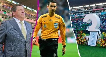 El árbitro se hizo tendencia en Twitter, Fox Sports salió ganando... Lo que no se vio del León-América